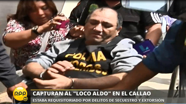 El 'Loco Aldo' tiene una requisitoria por robo y secuestro.