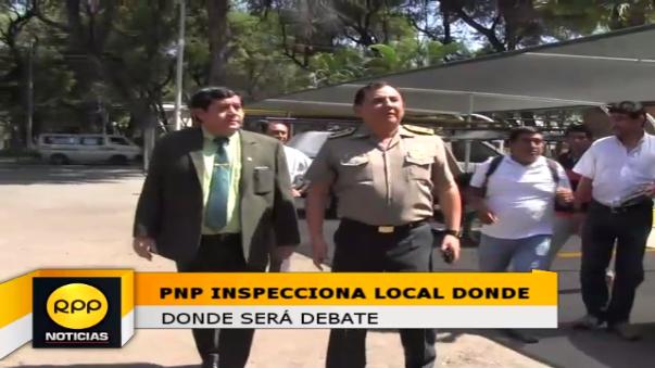 El general Dennis Pinto informó que la seguridad está garantizada con los 803 agentes que destinaran este domingo 22.