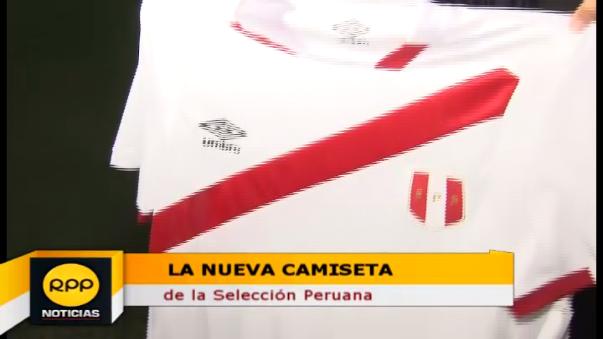 La camiseta nueva de Perú evoca la primera vez que se consiguió la Copa América.