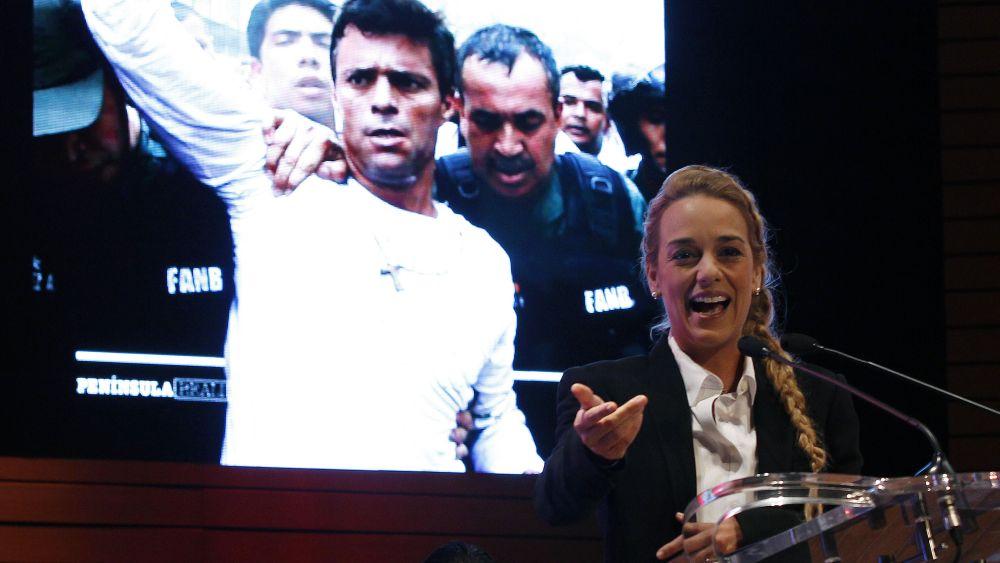 Lilian Tintori pidió un pronunciamiento a los gobiernos de la región.