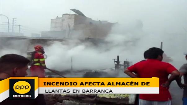 La emergencia se registró en calle Nicolás de Piérola donde funcionada este local de manera clandestina.