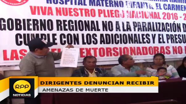 También los dirigentes invocaron a las autoridades para que eviten casos de extorsión en obras.