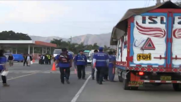 Las intervenciones se realizaron en la carretera de penetración al ande de La Libertad.