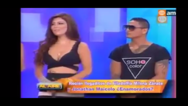 Maicelo 'explotó' en programa en vivo