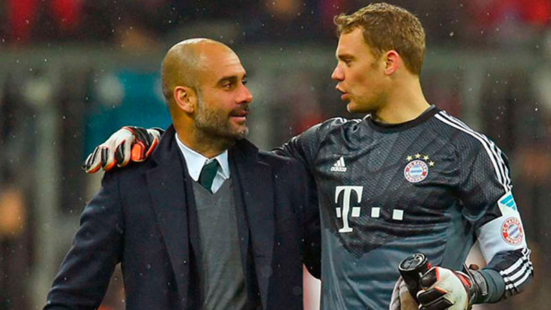 Así de emotiva fue la despedida de Josep Guardiola en Bayern Munich.