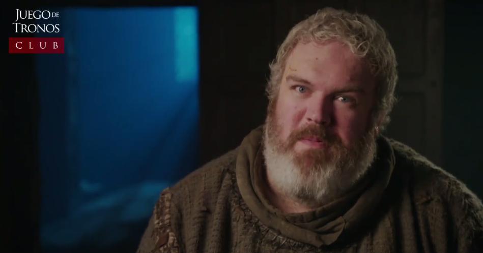 El destino de Hodor resultó emotivo incluso para el actor que lo interpreta, quien dio a conocer sus impresiones acerca del 5 capítulo de la sexta temporada de