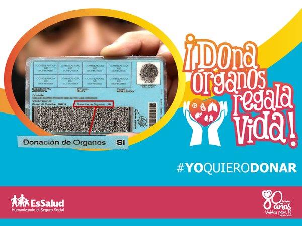 Tú puedes decirle Sí a la donación de órganos.