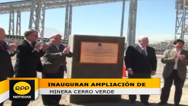 Con la ampliación de minera, Perú se convierte en uno de los primeros productores del cobre en el mundo.