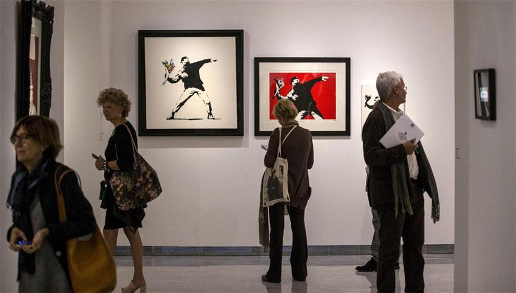 Roma desafía al misterioso artista Banksy con una espectacular muestra.