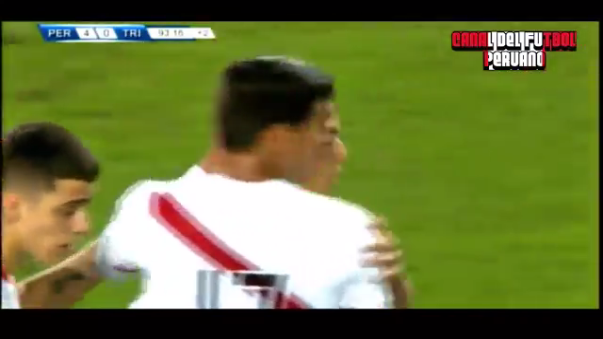 Gol de Cristian Benavente ante Trinidad y Tobago