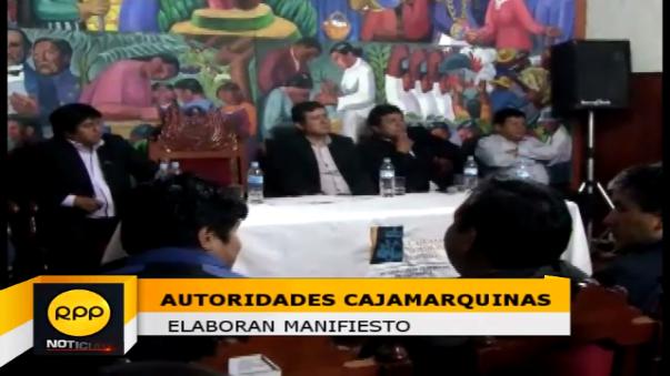 Autoridades se reunieron para elaborar documento que será entregad a los dos candidatos a la presidencia.