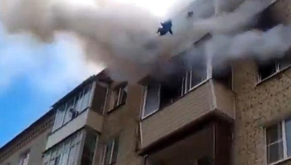 La rápida actuación de un grupo de vecinos permitió evitar una tragedia.
