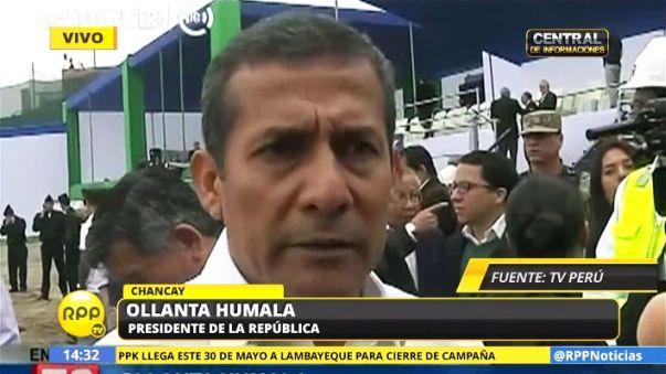 Ollanta Humala rescató los logros de su gobierno
