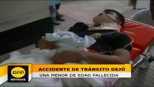 Conductor de bus que trasladaba a efectivos quiso evitar atropellarlas, lo que ocasionó el accidente.