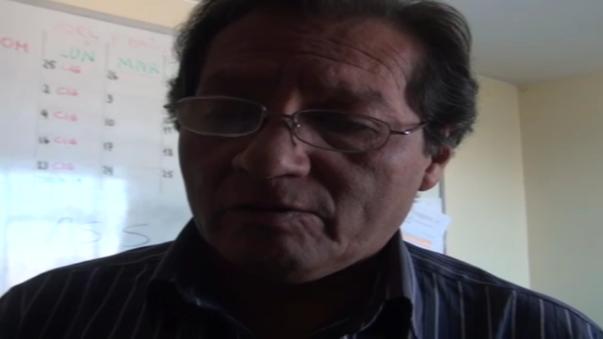 Jorge Velarde, director de Epidemiología de la Gerencia Regional de Salud de Arequipa.