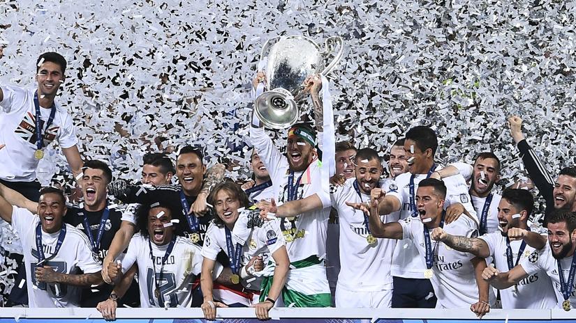 Real Madrid campeón de la Champions League.
