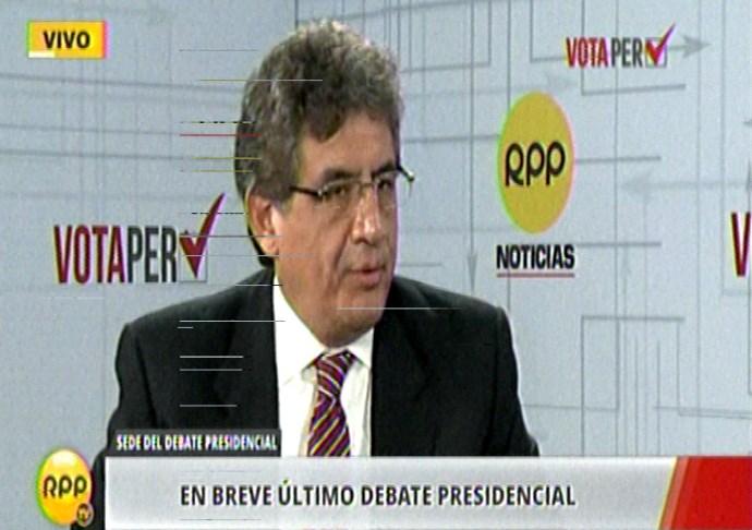 Ahora Juan Sheput, vocero de PPK conversa con RPP Noticias.