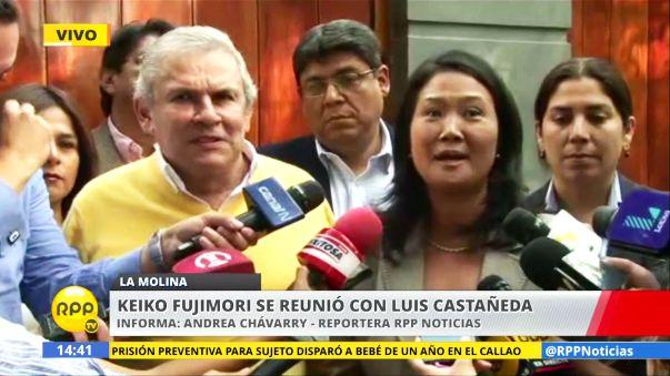 Keiko Fujimori y Luis Castañeda aseguraron que trabajarán de la mano por Lima, pero que no han formado una alianza.