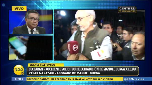 Declaran procedente extradición de Manuel Burga a Estados Unidos