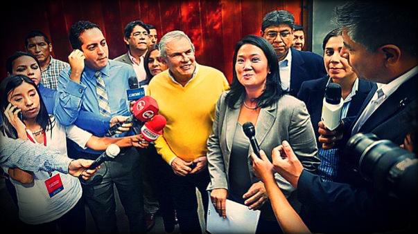 La reunión entre Luis Castañeda y Keiko Fujimori causó polémica