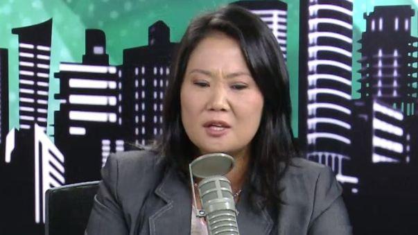 Keiko Fujimori señaló que las acusaciones a Joaquín Ramírez son