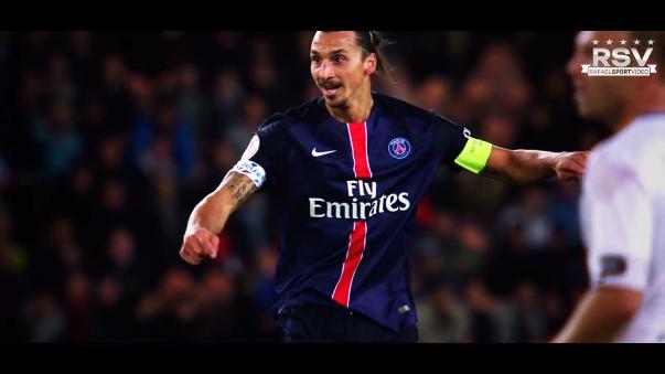 Zlatan Ibrahimovic y su gran temporada en el PSG.