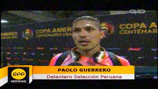 Paolo Guerrero contó que soñó con el gol que le marcó a Haití.