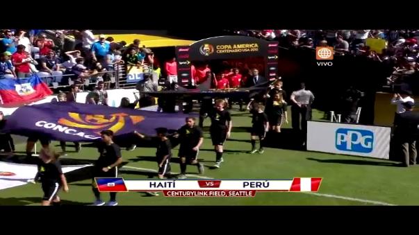 Perú integró el podio en la Copa América de Chile 2015.