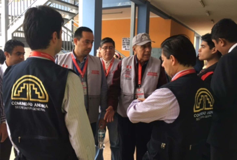 #VotaPerú: Misión de Observadores de la Comunidad Andina observa desarrollo de elecciones. http://rpp.pe/
