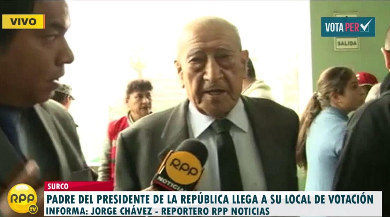 """#VotaPerú: Isaac Humala vota en Surco: """"¿qué de bueno se ha hecho en este gobierno?"""""""