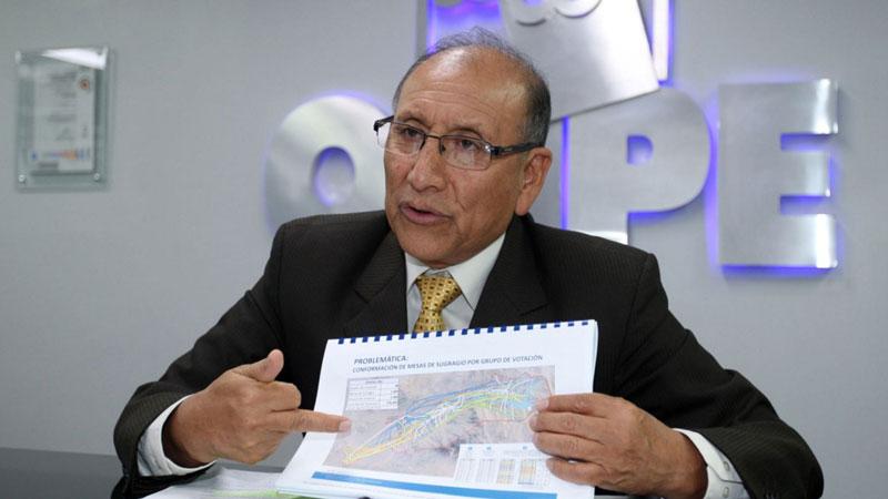 #Vota Perú ONPE sobre denuncia de Galarreta:
