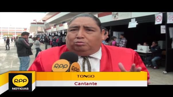 El cantante Tongo conversó con las cámaras de RPP Noticias y pidió al candidato electo que recuerde el