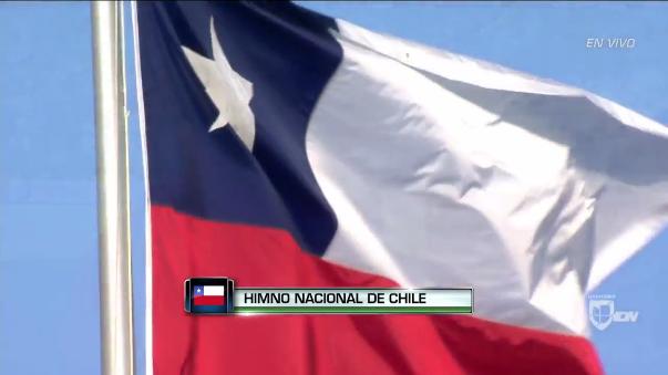 La canción 'Superstar' irrumpió en pleno himno de Chile.