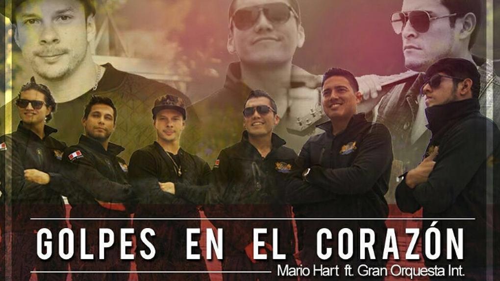 Las voces de Mario Hart y La Gran Orquesta Internacional se unen para traernos una fusión de cumbia y música urbana.