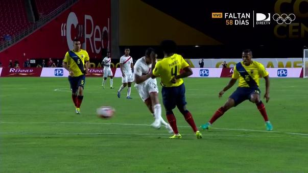 Edison Flores marcó el 2-0 parcial para la Selección Peruana.