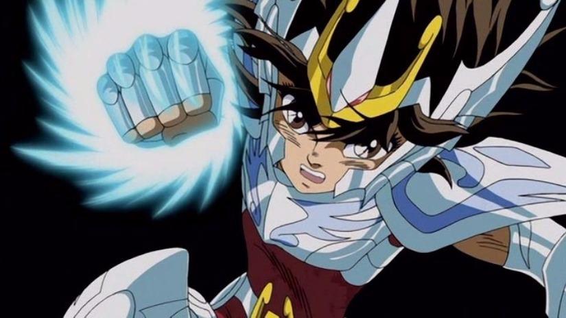 Pegaso se lanza contra Apolo con una armadura que se presume es divina