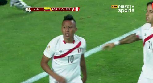 La Selección Peruana se complicó en la Copa América.