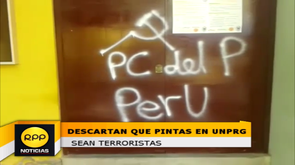 Autoridades no descartan que se trate de gente que busca perjudicar a gestión del rector, Jorge Oliva.