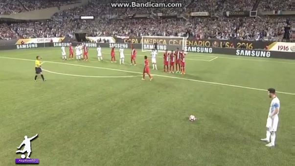 El segundo gol de Lionel Messi.