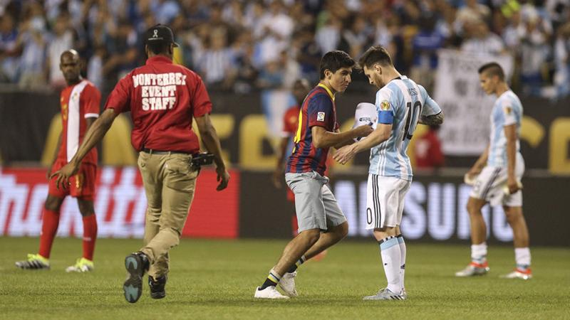 Messi es el goleador de Argentina en la Copa América con 3 tantos en dos fechas disputadas.