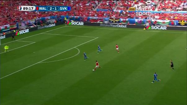 Gareth Bale demostró su potencia y velocidad en contragolpe
