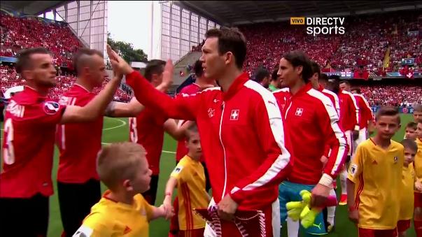 Revive aquí el triunfo de Suiza con un gol de Fabian Schar (5').