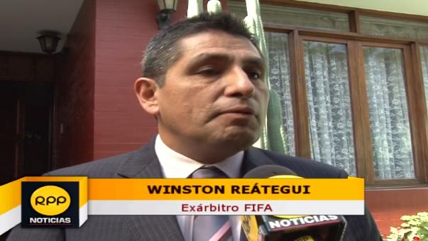 Winston Reátegui fue árbitro por 15 años.