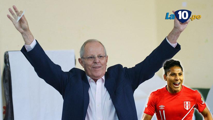 Pedro Pablo Kuczynski, presidente electo de Perú habló de la Selección Peruana.