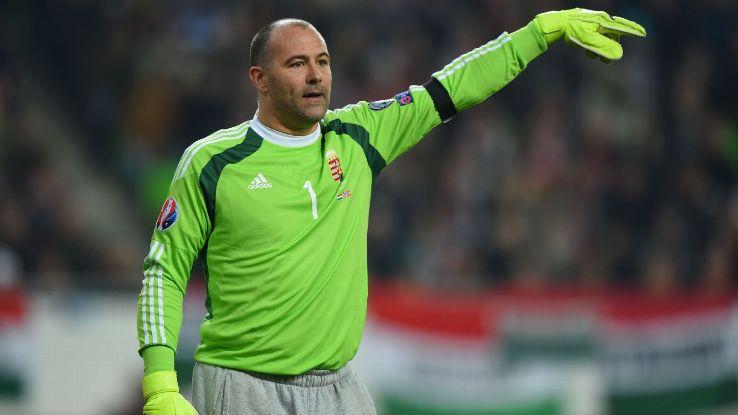 Gabor Király (40 años) es el jugador con más edad que ha disputado la Eurocopa.