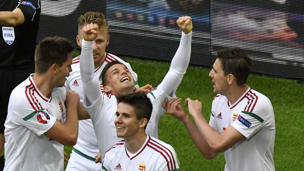 Hungría sumó un importante triunfo en la Eurocopa.