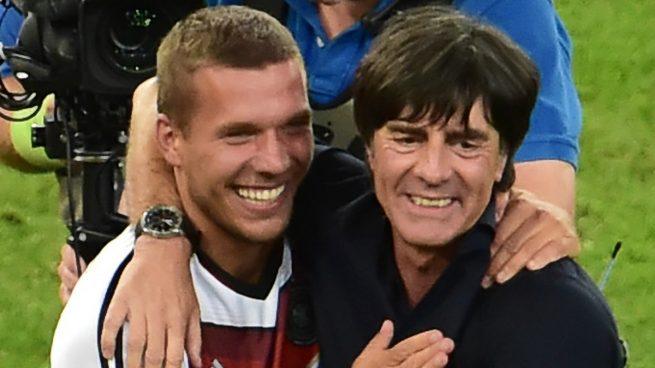 Lukas Poloski lleva más de 12 años como jugador de la Selección Alemana.