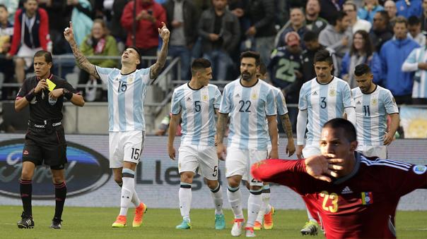 Argentina no tuvo problemas para aplastar a Bolivia.