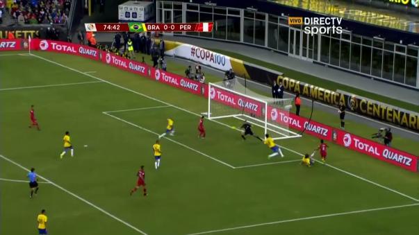 El polémico gol de Raúl Ruidíaz.