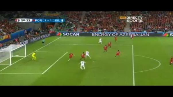 Portugal 1-1 Islandia.
